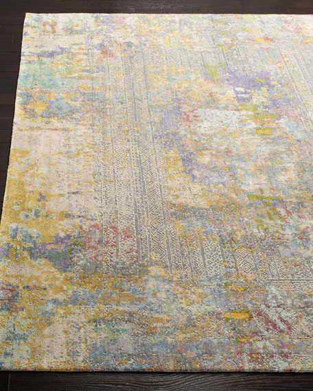 Weston Hand-Knotted Wool Rug, 6' x 9'