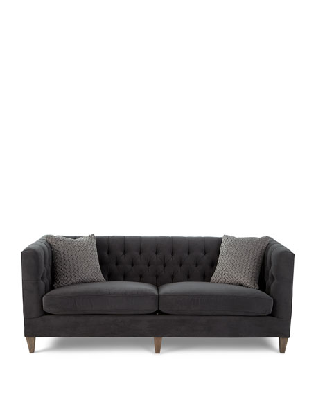 Beckett Tufted-Back Sofa 83""