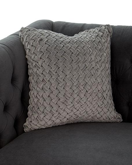 Beckett Tufted-Back Sofa