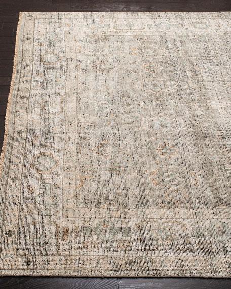Rowan Hand-Knotted Wool Rug, 9' x 12'