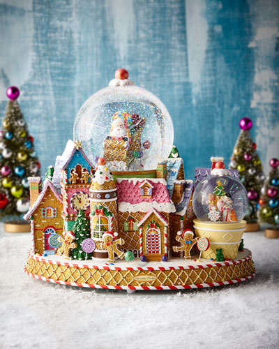 Sweet Delivery Snow Globe