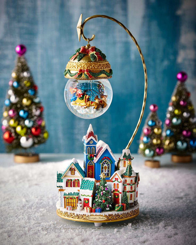 Christmas Village Snow Globe by Christopher Radko
