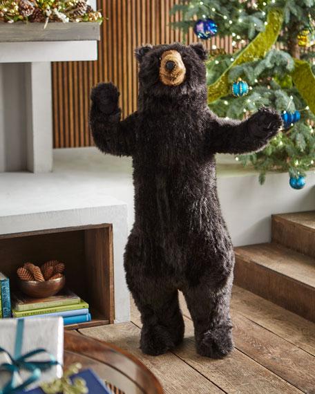 "Standing Black Bear, 48"""