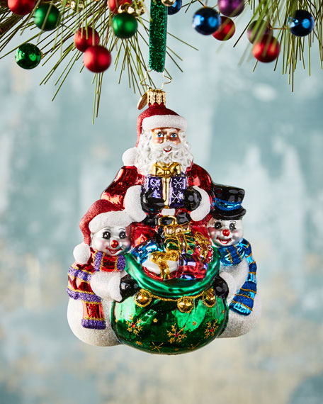 Christopher Radko Cool Christmas Couriers Christmas Ornament