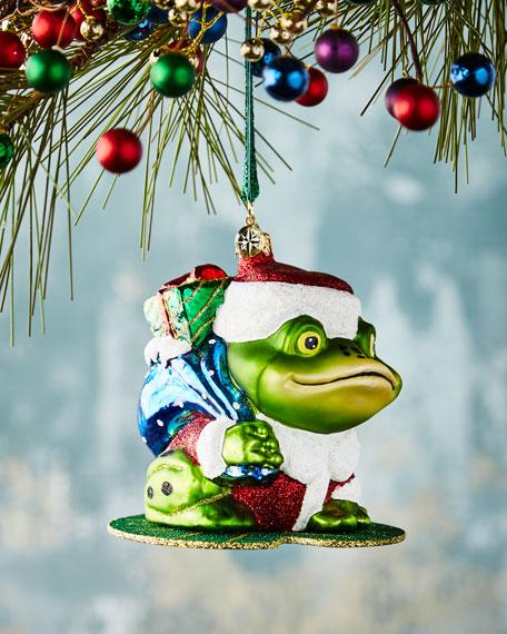 Christopher Radko Lily Pad Prizes Ornament
