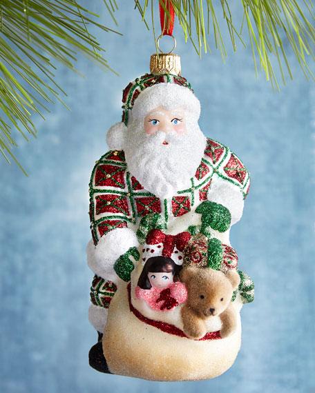 Santa's Got the Goods Ornament