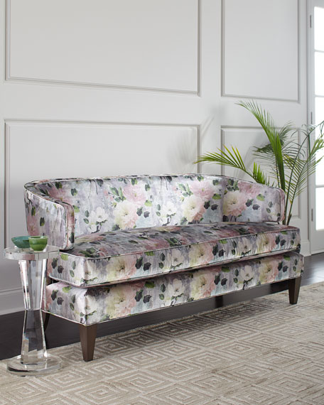Lillie Floral Settee