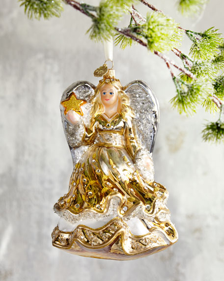 John Huras Golden Angel Christmas Ornament