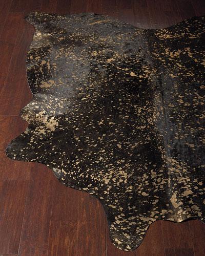 Starlight Hairhide Rug, 5' x 8'