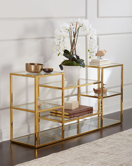 Regina Andrew Design Magnus Multi-Level Console Table