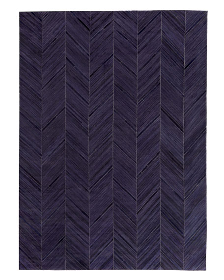 Vivie Hair-Hide Rug, 5' x 8'