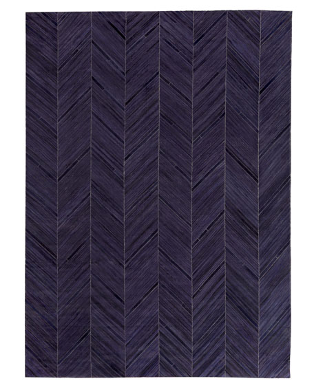 Vivie Hair-Hide Rug, 8' x 11'