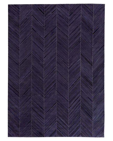"Vivie Hair-Hide Rug, 13'6"" x 17'6"""