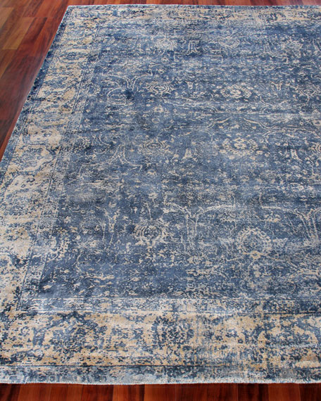 Exquisite Rugs Adelaide Hand-Knotted Rug, 10' x 14'