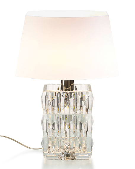 Louxor Crystal Table Lamp