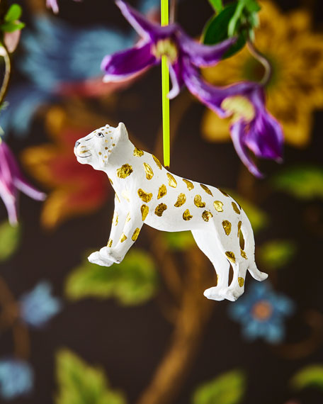 Large Cheetah Ornament