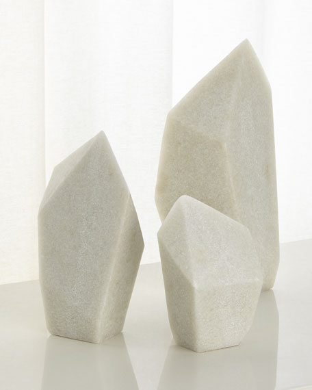 Arteriors Nerine Sculptures, Set of 3