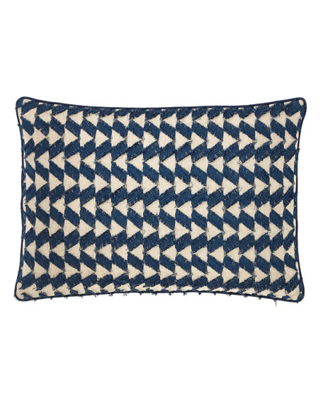 "Fringe Benefits Pillow, 14"" x 20"""