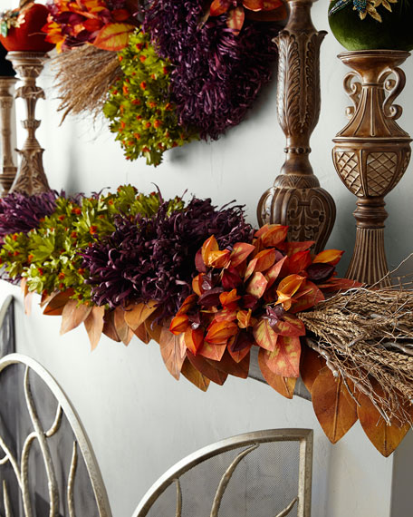 Fall Harvest Garland, 72""
