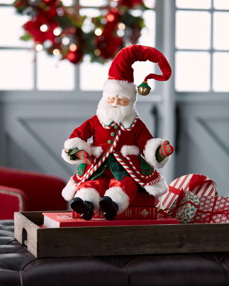 "Night Before Santa Doll, 18"""