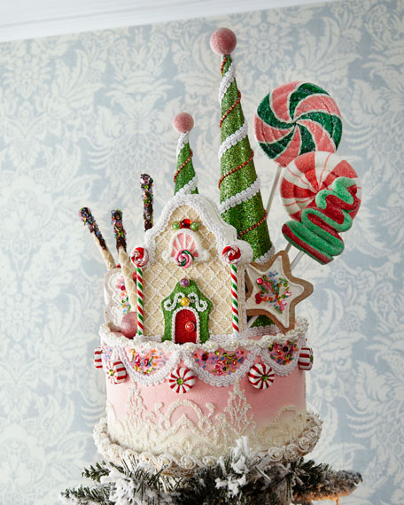 Katherine's Collection Sweet Cake Tree Topper