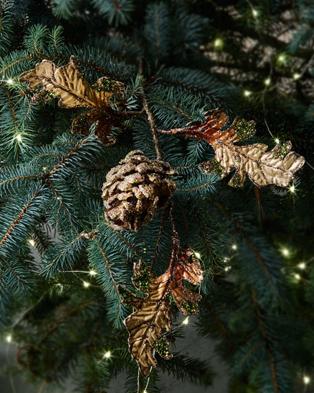 Fantasy Pinecone Pick Christmas Ornament