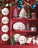 Juliska Country Estate Winter Frolic Ruby Serving Platter Christmas Eve