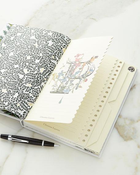 Christian Lacroix Quatre Saisons B5 Journal
