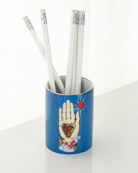 Christian Lacroix Maison De Jeu Porcelain Pen Pot