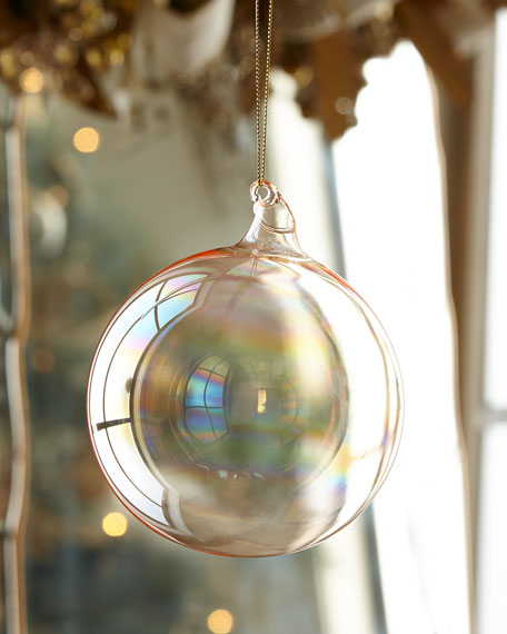 Jim Marvin 120mm Glass Ball Christmas Ornament
