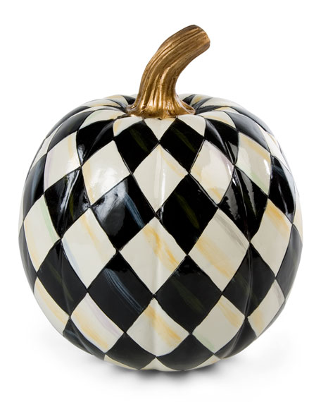 Courtly Harlequin Small Pumpkin