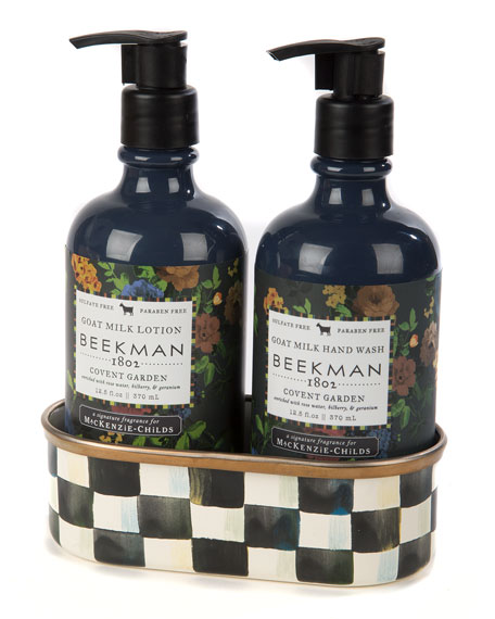 Covent Garden Soap & Lotion Caddy Set