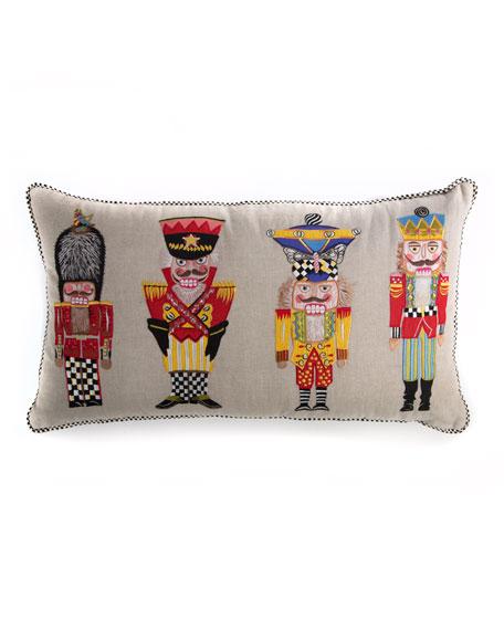 Nutcracker Brigade Lumbar Pillow