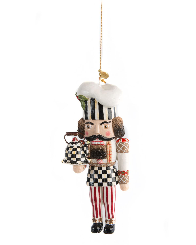 MacKenzie-Childs Baker Nutcracker Christmas Ornament | Neiman Marcus