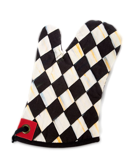 MacKenzie-Childs Courtly Harlequin Bistro Oven Mitt