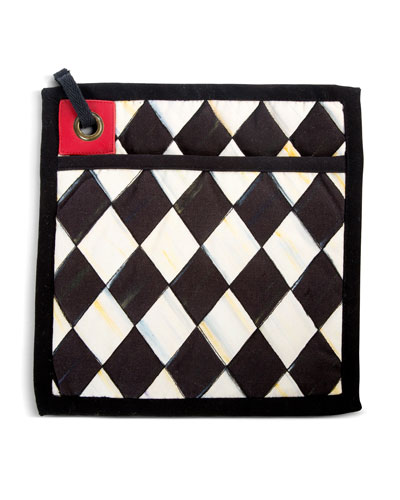Courtly Harlequin Bistro Pot Holder