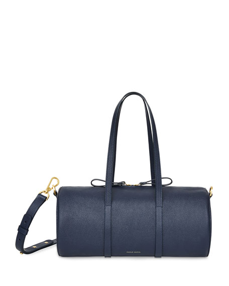 Mansur Gavriel Pebbled Leather Mini Duffel Bag