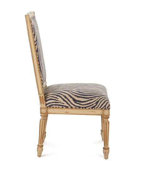 Zebra Dining Side Chair