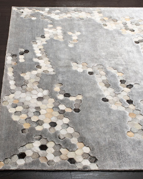Atlantic Hand-Tufted Rug, 4' x 6'