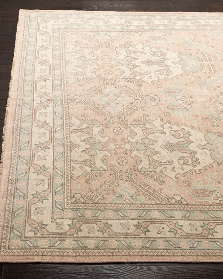 Louie Hand-Knotted Rug, 6' x 9'