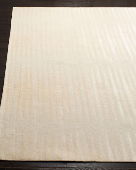 Ayumi Stripe Hand-Knotted Rug, 9' x 12'