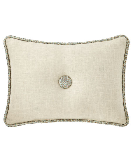 Sherry Kline Home Tinsley Linen Boudoir Pillow