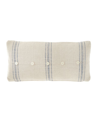Classic Marine Pillow with Buttons