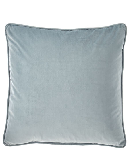 "Rowen Velvet Pillow, 20""Sq."