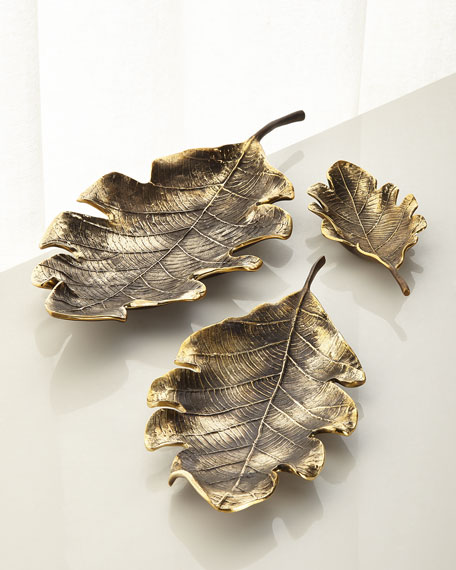 Leaf Table Decor, Set of 3