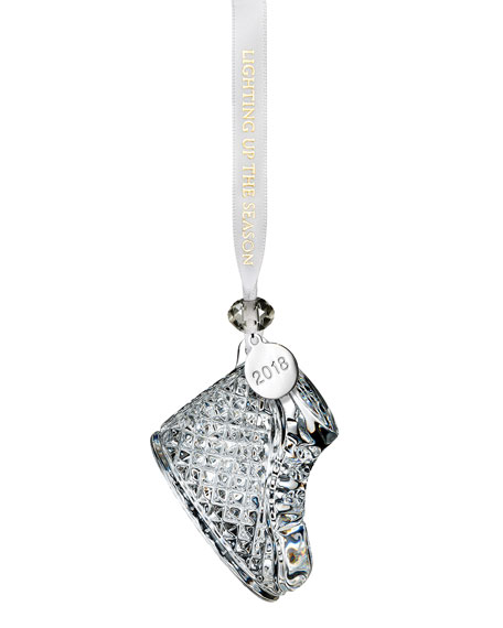 Waterford Crystal Baby's First Christmas Ornament