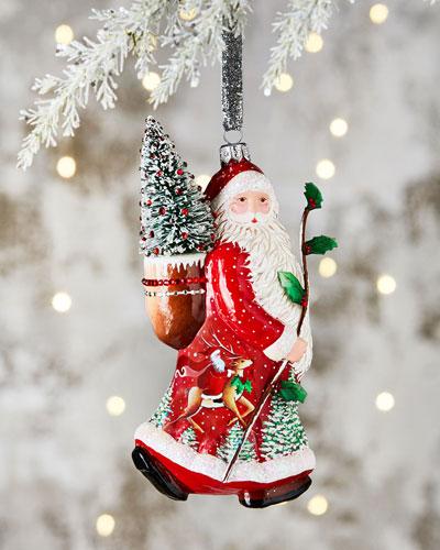 Acadia Claus Ornament