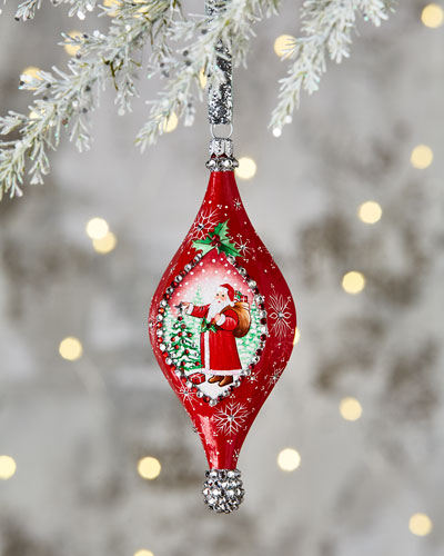 Santa Pendant Ornament