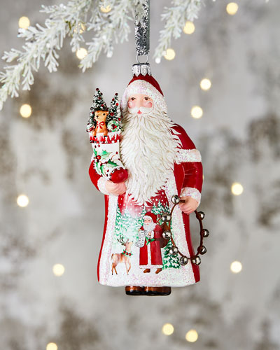 Amato Claus Ornament