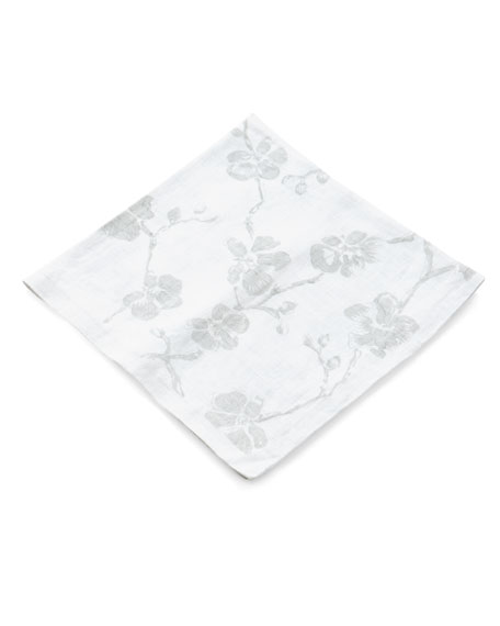 Orchid Printed Dinner Napkin